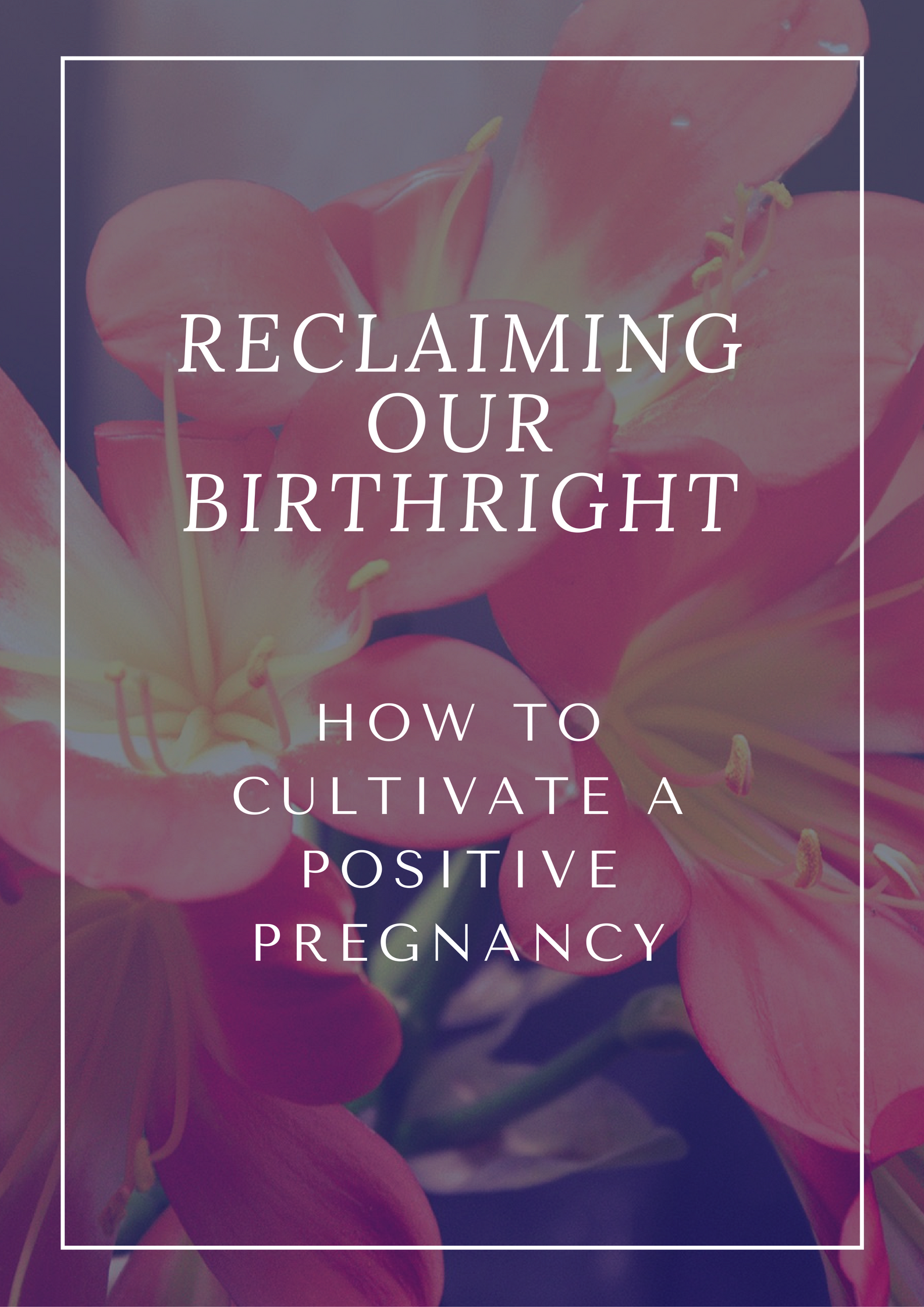 Preparing for your Birth